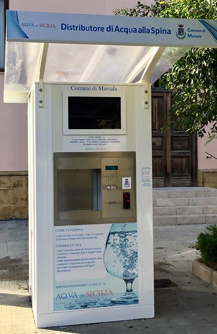 distributore acqua Marsala